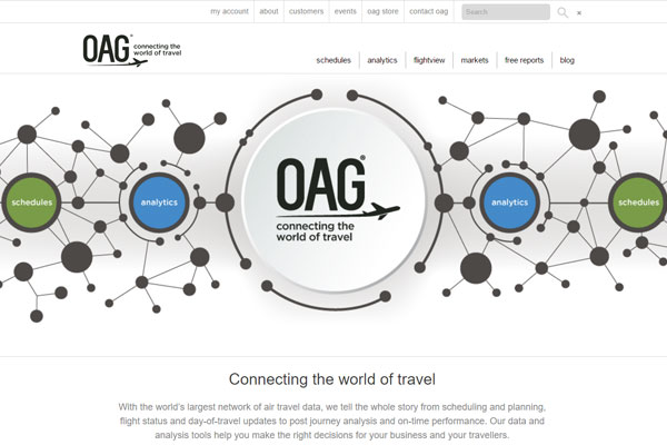 Air travel data business OAG tipped for sell off