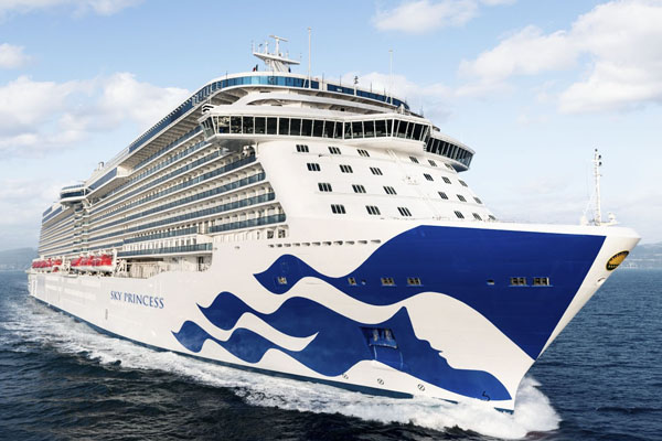 Princess Cruises offers £1 deposits for one day only