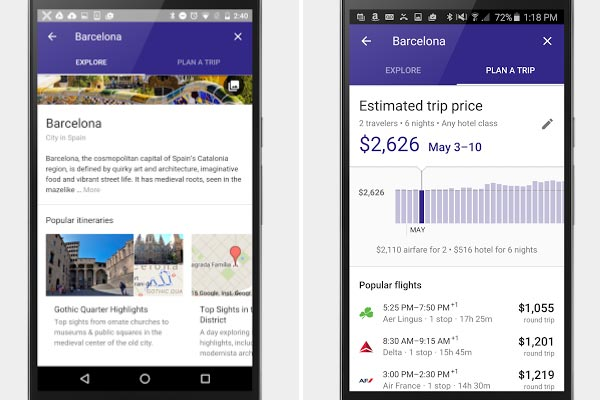 Google launches 'game-changing' holiday mobile search
