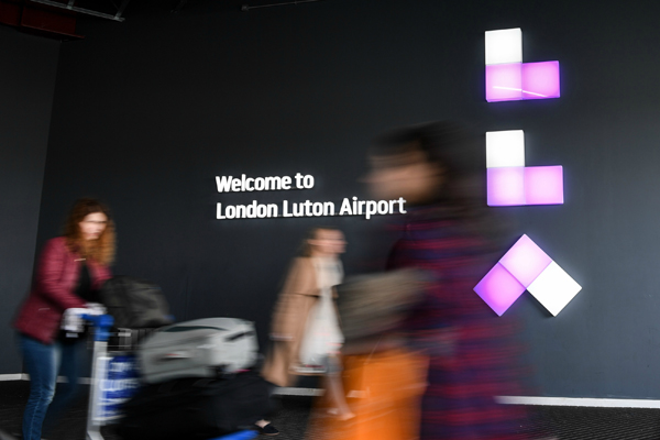 Luton airport announces record summer passenger numbers