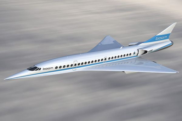 Five airlines 'backing successor to Concorde'