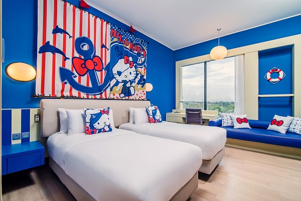 Shangri-La unveils Hello Kitty-themed rooms at Malaysian hotel