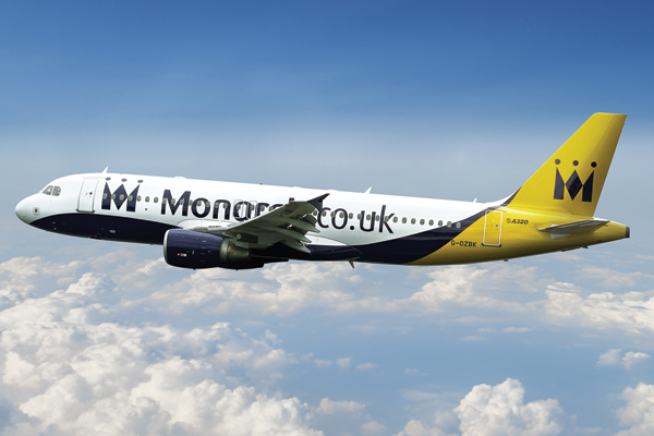Monarch reports losses of £290m as it reviews business model
