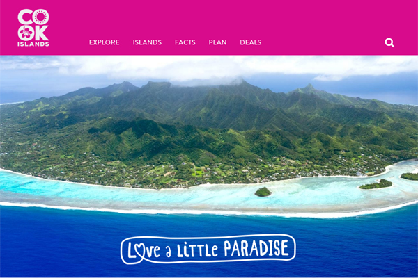 Cook Islands Tourism website revamp offers localised content