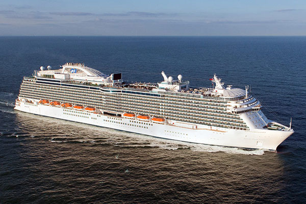 Princess Cruises reports 'best ever January'