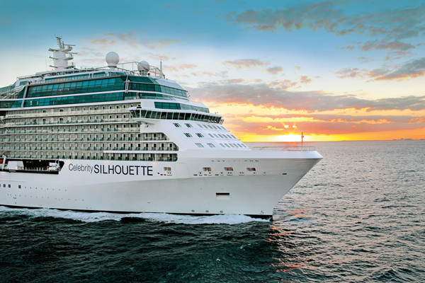 Celebrity Silhouette arrives in Southampton for summer season