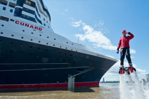 Cunard's Queen Mary 2 embarks on historic transatlantic crossing