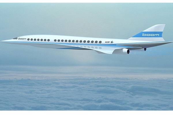 Branson backs supersonic jet revival