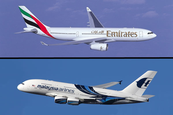 Emirates extends Malaysia Airlines codeshare
