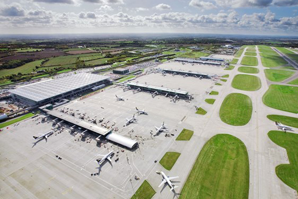 Stansted passenger numbers up 8% in April