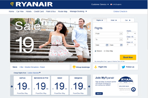 Ryanair to shut down site and app overnight