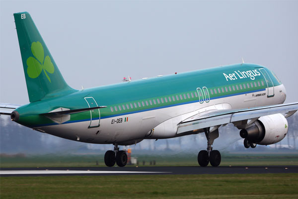 Aer Lingus announces Dublin-Seattle service
