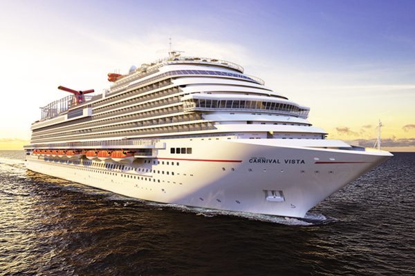 Carnival Cruise takes delivery of Carnival Vista