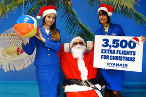Ryanair announces extra seats as part of 'countdown to Christmas'