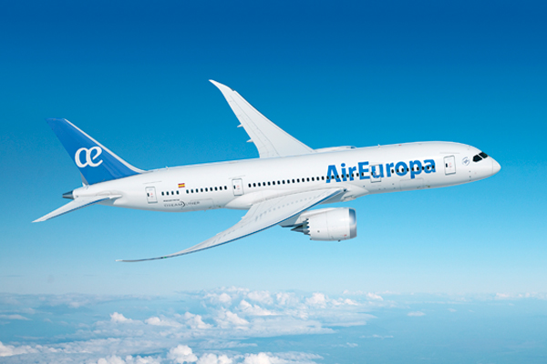 Air Europa introduces first Boeing 787-9 Dreamliner