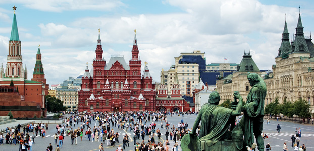 Escorted tours: From Russia with love