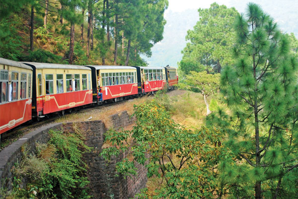 Toy Train trips in the Golden Triangle
