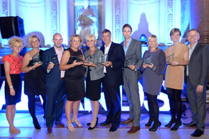 Cruise agents and industry heads recognised at Clia UK awards ceremony