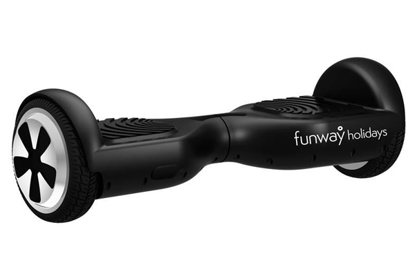 Funway Holidays sales team ditch cars for hoverboards