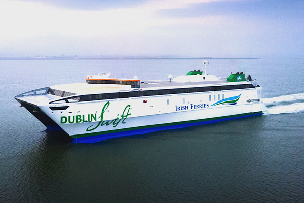 Irish Ferries deploys high-speed Dublin-Holyhead ferry