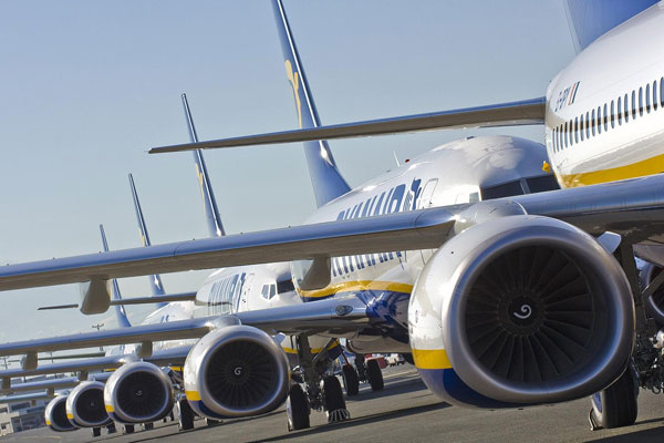 Ryanair 'cyber week' sale draws 25m website visits