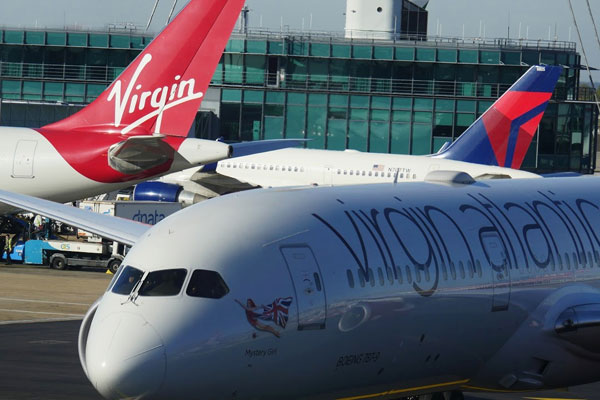 Virgin Atlantic passengers caught 'joining mile high club'