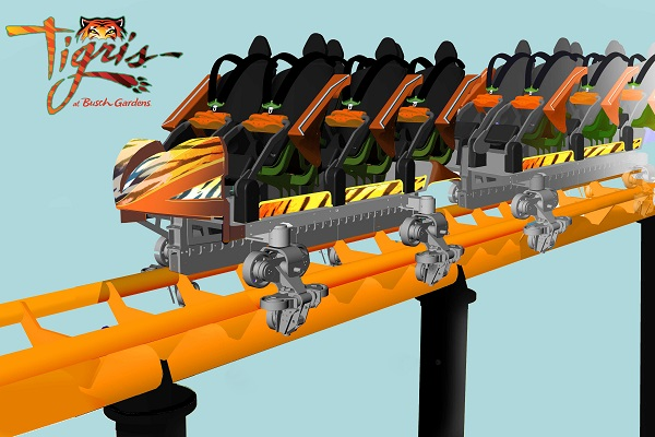 Busch Gardens to build new tiger-themed rollercoaster