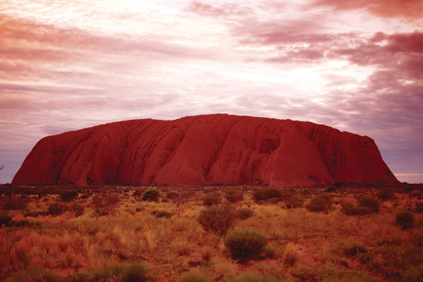 Australia's red centre: Rock Star