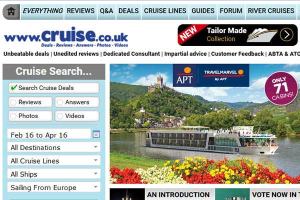 Cruise.co.uk secures £52m private equity funding