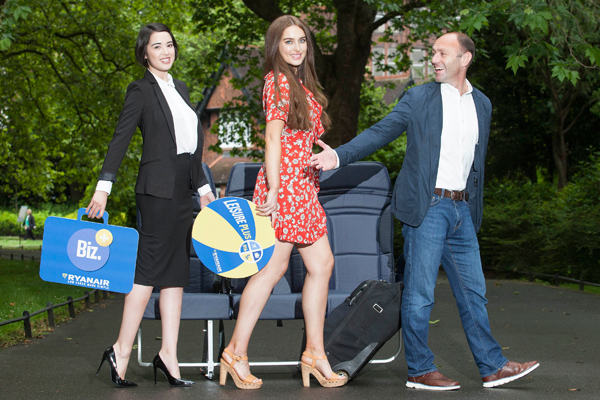 Ryanair unveils three tailored bundles of fares