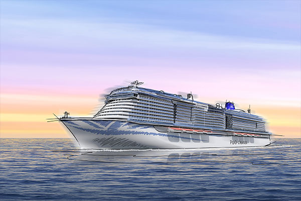 P&O Cruises confirms order for second new ship