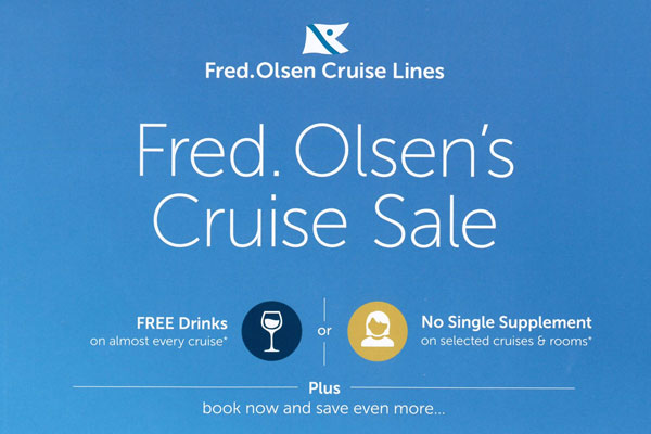 Fred Olsen unveils new year booking promotion