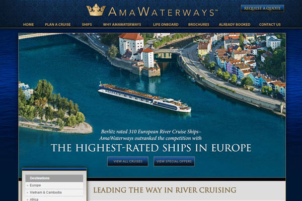 Jamie Loizou joins AmaWaterways
