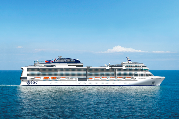 MSC Cruises to christen new ship Bellissima in UK