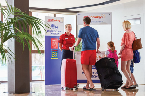 Jet2holidays extends Free Resort Flight Check-In service