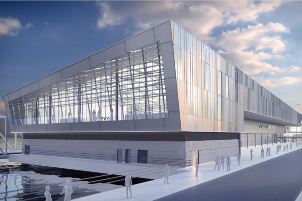 Designs released for planned new Liverpool cruise terminal