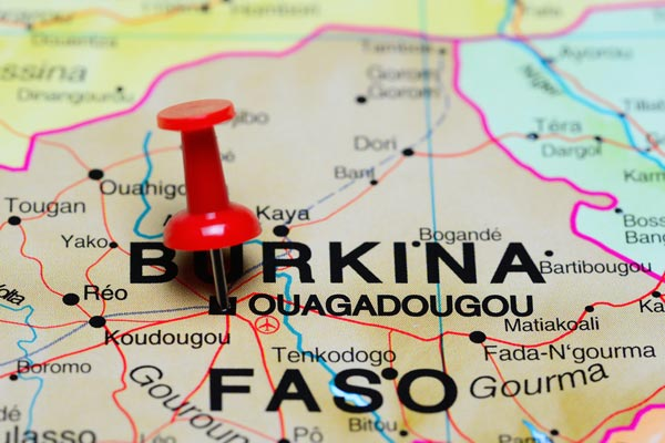 British travellers warned after Burkina Faso attack