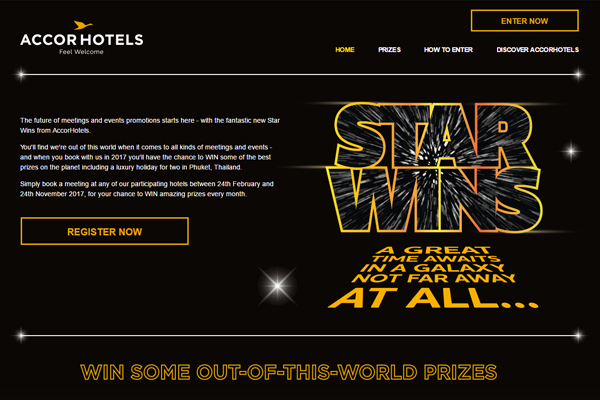 AccorHotels reveals 'Star Wins' agent competition