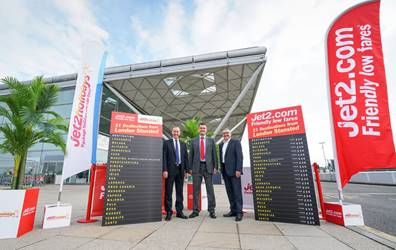 Jet2holidays targets agents around Stansted