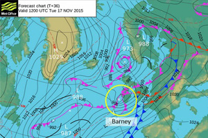 Storm Barney triggers air and rail travel alerts