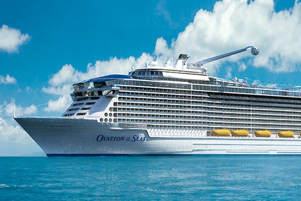 Ovation of the Seas will 'redefine' Alaska itineraries