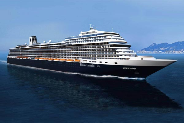 New Holland America Line ship completes trials