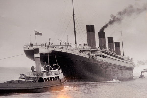 Chinese theme park to build full-size Titanic replica