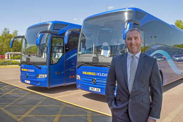 Shearings Holidays boosts fleet with 29 new coaches