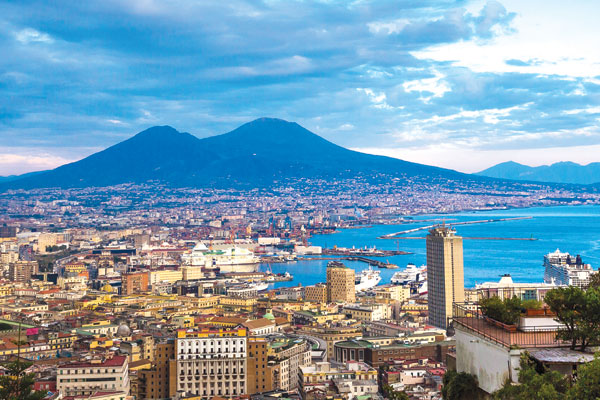 Italy and France: Naples