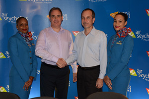 Etihad parachutes new chief executive into partner Air Seychelles