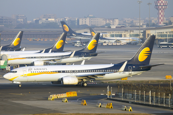 Jet Airways forced to ground aircraft