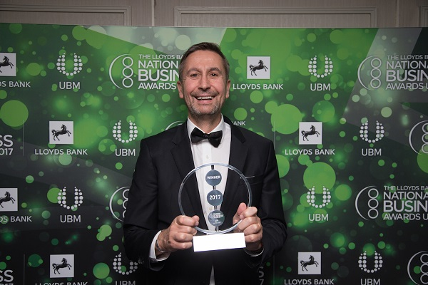 Travel Counsellors wins Customer Focus category at National Business Awards