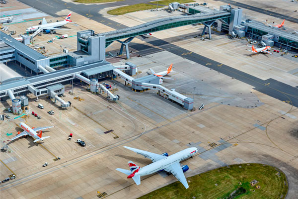 Long-haul routes give Gatwick 12% passenger boost