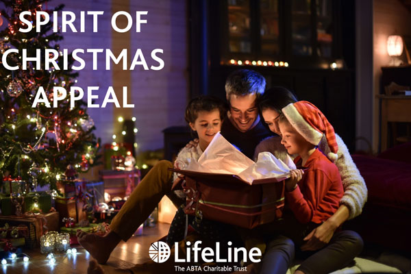 Abta LifeLine launches Christmas appeal